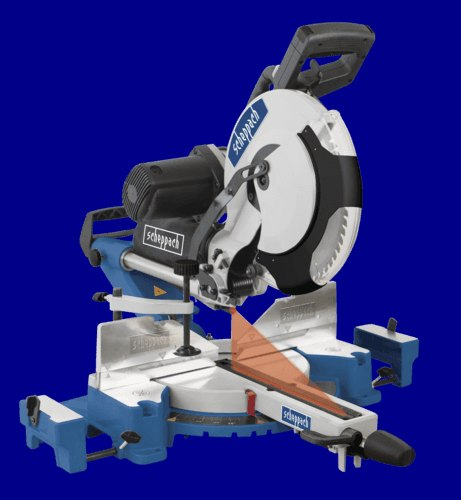 Scheppach 305 MM DOUBLE BEVEL SLIDING MITRE SAW - 2000 W