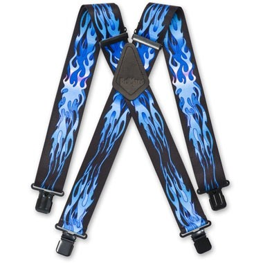 BriMarc Braces BRACES BLUE FLAME