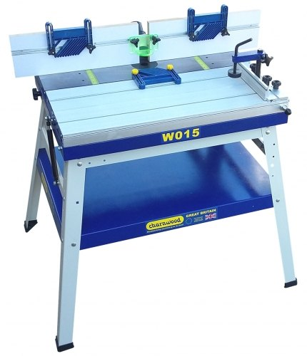 Charnwood Charnwood W015 Floorstanding Router Table with Sliding Table