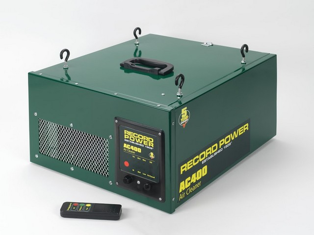 Record Power Record Power AC400 Two Stage Air Filter with Remote 3 Speeds and Time Delay