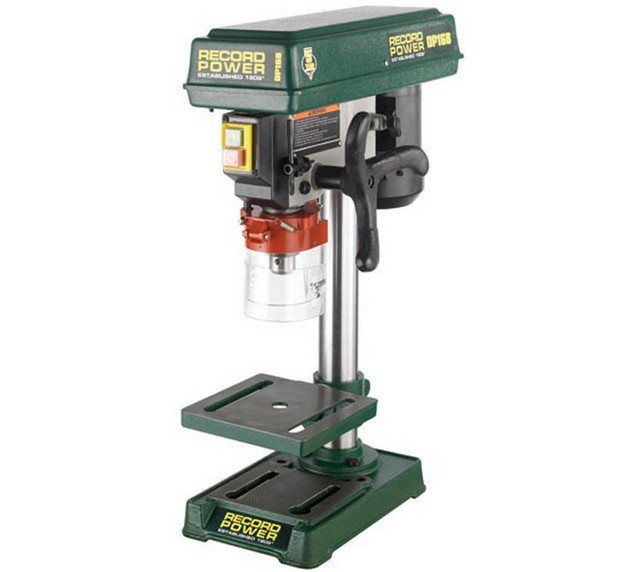 "Record Power Record Power DP16B Bench Drill with 13"" Column and 1/2"" Chuck"