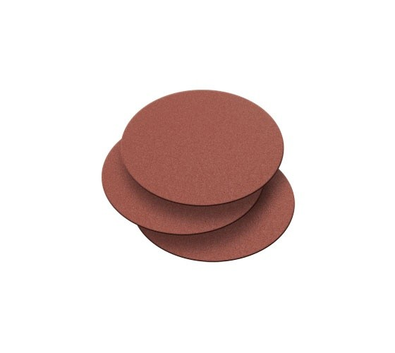 Record Power BDS150/G3-3PK 150mm 120 Grit 3 Pack of Self Adhesive Sanding Discs