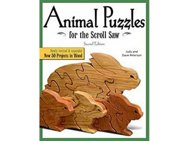 GMC Publications Animal Puzzles for the Scroll Saw