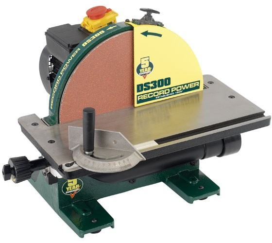 "Record Power Record Power DS300 12"" Disc Sander with Guard"