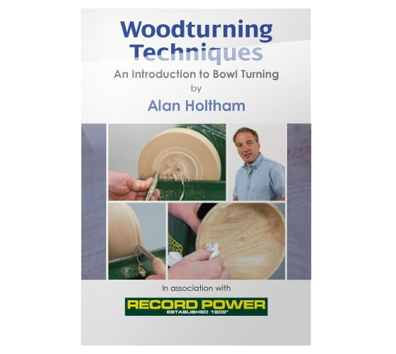 Record Power RECORD POWER DVD (ALAN HOLTHAM - WOODTURNING TECHNIQUES BOWL TURNING)
