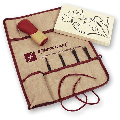 Flexcut Flexcut Palm Tool Travel Set - 5 Piece
