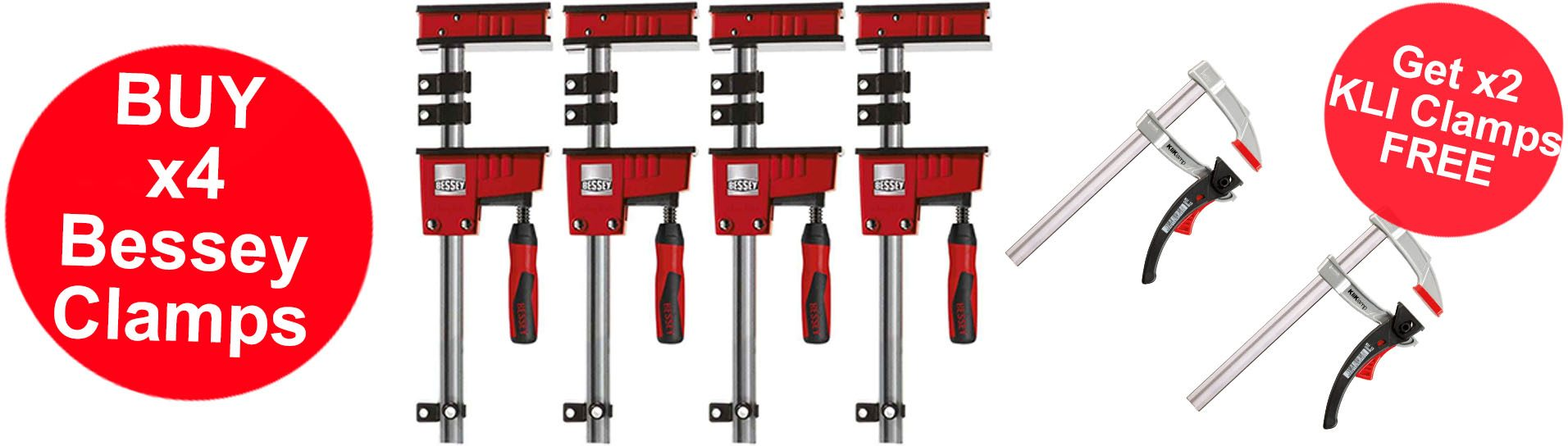 Bessey Quad Pack Deals