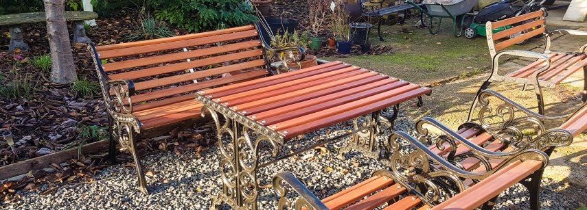 Awe Inspiring Replacement Hardwood Bench Slats Yandle Sons Yandle Ibusinesslaw Wood Chair Design Ideas Ibusinesslaworg