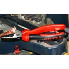 180mm Knipex combination pliers from the Proxxon Automotive and universal tool set (23 650):