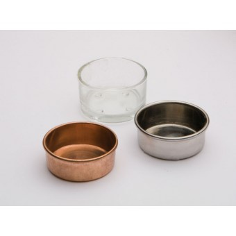 Craft Supplies Copper Tealight Cup Project Parts