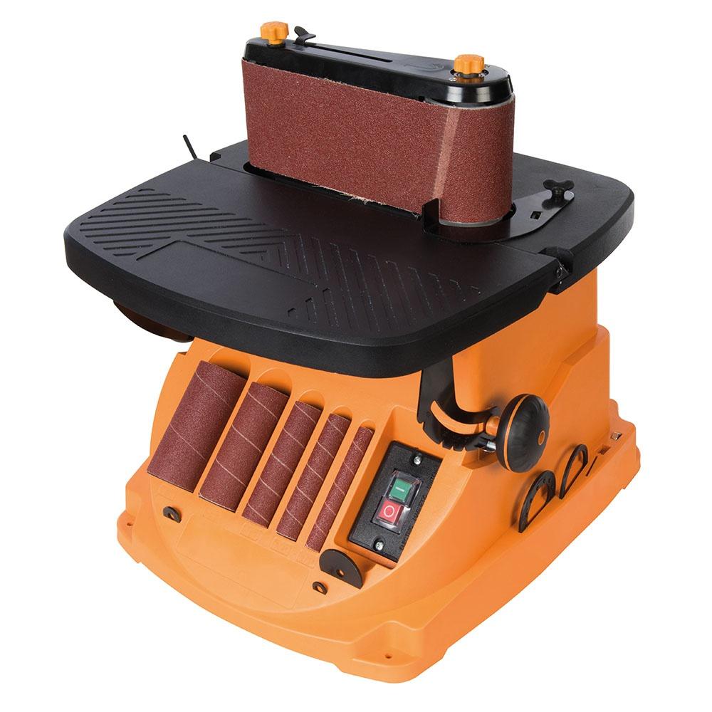Triton 450w Oscillating Spindle Amp Belt Sander Tspst450