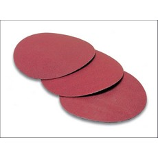 essentials Abrasive Disc 25mm P60 Grit Velcro Disc Pack of x10