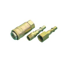 DRAPER 3 Piece Air Line Coupling Set 1/4 BSP