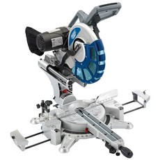 DRAPER Expert 305mm 2000W 230V 2 x Bevel Sliding Compound Mitre Saw with Laser Cutting Guide