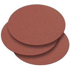Record Power 300mm 120 Grit 3 Pack of Self Adhesive Sanding Discs for DS300