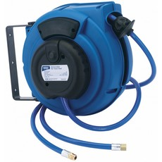 DRAPER 9M Air Hose Reel on a Wall/Ceiling Bracket