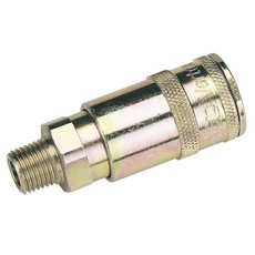 DRAPER 1/4' BSP Taper Male Thread Vertex Air Coupling