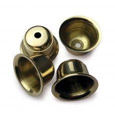 Brass Candle Cups - 4 pack