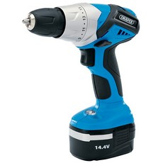 DRAPER 14.4V Cordless Rotary Drill with One Battery