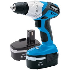 DRAPER 18V Cordless Rotary Drill with Two Batteries 20496