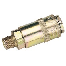 DRAPER 1/4' Male Thread PCL Tapered Airflow Coupling