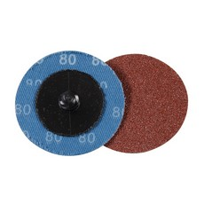 50mm Quick-Change Sanding Discs Set 5pce                               80 Grit