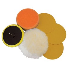 Sanding & Polishing Kit 6pce                                           125mm