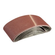 Sanding Belts 100 x 610mm 5pk                                          80 Grit