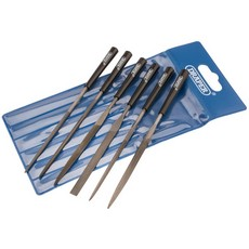 DRAPER 6 Piece 140mm Needle File Set