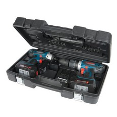 Silverstorm 18V Combi Drill & Impact Driver Twin Pack                  18V