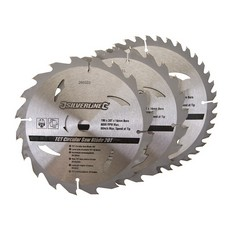 TCT Circular Saw Blades 20, 24, 40T 3pk                                190 x 16 - no ring