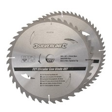 TCT Circular Saw Blades 40, 60T 2pk                                    300 x 30 - 25, 20, 16mm rings
