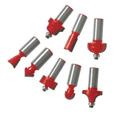 "1/2"" TCT Router Bit Set 30pce                                          1/2"""