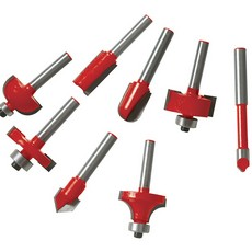 1/4' TCT Router Bit Set 24pce                                          1/4'