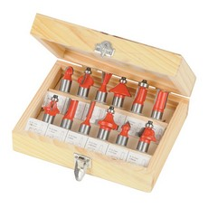 1/2' TCT Router Bit Set 12pce                                          1/2'