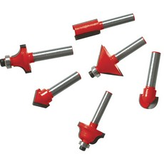 1/4' TCT Router Bit Set 12pce                                          1/4'