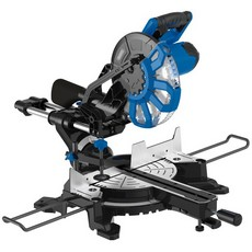 DRAPER 250mm 2000W 230V Sliding Compound Mitre Saw with Laser Cutting Guide
