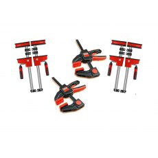 Bessey KRE Quad Pack Package Deal Body Clamps 4pk + FREE x2 KLI 20 Clamps!