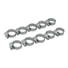 Hose Clips 10pk 16 - 22mm (O)