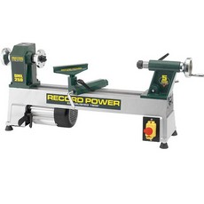 "Record Power DML250 Cast Iron 5 Speed 10"" Mini Wood Lathe"