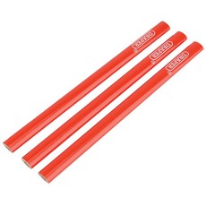 DRAPER Pack of Three Carpenters Pencils 174mm Long
