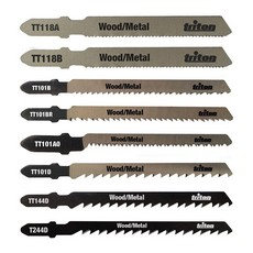 Jigsaw Blade Set 10pce Wood / Metal