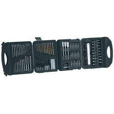 DRAPER Drill and Accessory Kit (122 Piece)