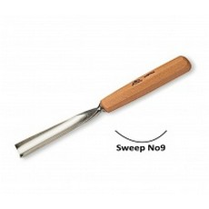 Stubai 10mm Straight Carving Gouge No9 Sweep