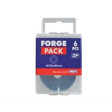 Forgefix Flat Washer 6 Pack M10x40MM