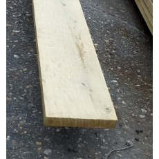 Green oak fascia board