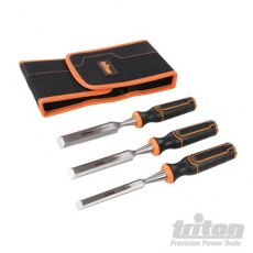 Triton Wood Chisel Set 3pce