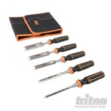 Triton Wood Chisel Set 5pce