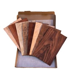 Dabl Guitar & Violin Headstock Wood Veneer Packs