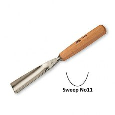 Stubai 40mm Straight Carving Gouge No11 Sweep